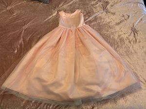Flower girl dress size 6 for Sale in Anaheim, CA