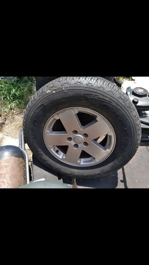 Jeep wheels and tires for Sale in Deer Park, TX