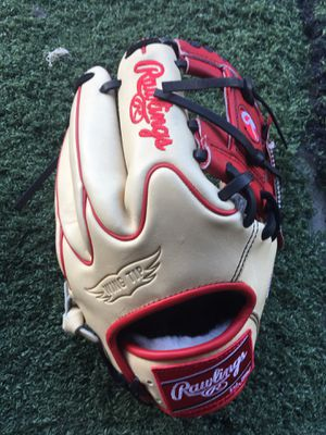 Rawlings pro preferred baseball glove new with tags 11.5 $235 softball for Sale in Chino, CA