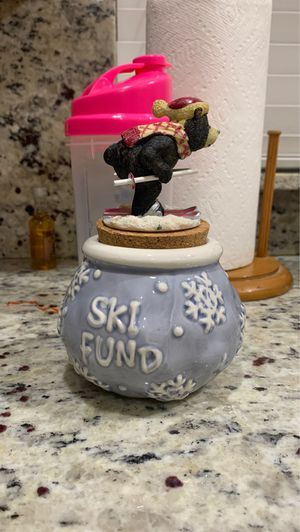 """Savings Jar """"Ski Fund"""" for Sale in Boca Raton, FL"""