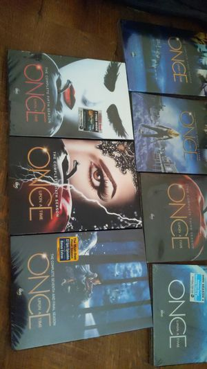 Entire series of once upon a time all unopened except for 1 season all MINT condition for Sale in Suffolk, VA