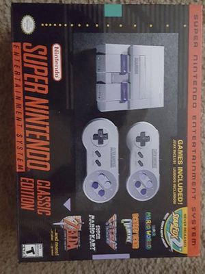 Snes mini classic for Sale in Columbus, OH