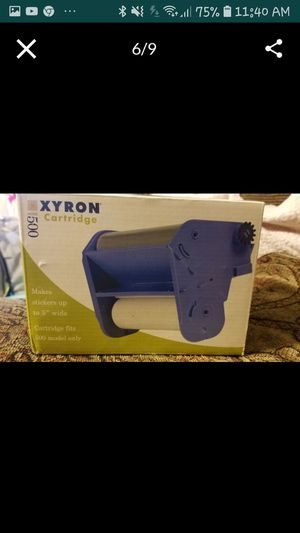Xyron 500 Sticker Cartridge bundle, Sold by CASSBOOKS for Sale in Diamond Bar, CA