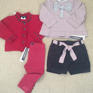 Baby girl Clothes - Size: 18 Months - NEW with tags (4 Pieces) for Sale in Los Angeles, CA