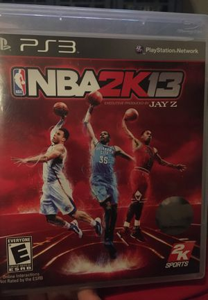NBA 2K13 for PS3 for Sale in Newcastle, OK