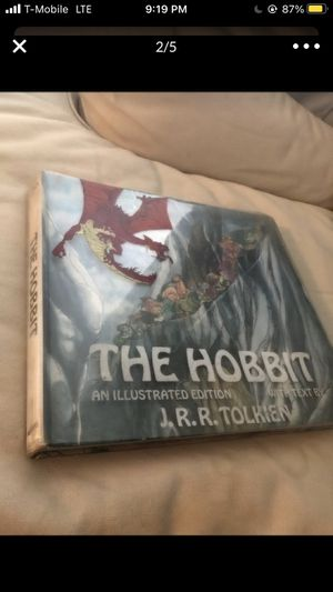 Hobit book Illustrated version for Sale in Queens, NY