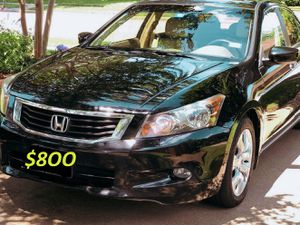2009 Up for sale Honda Accord EXL URGENT $8OO⌛🏁 TITLE 📗⚡️📗 CLEAN Accident-⚡️⌛📗‼️ for Sale in Baton Rouge, LA