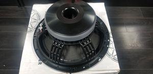 "EXCLUSIVE 15"" professional loudspeaker dj speaker for Sale in Moreno Valley, CA"