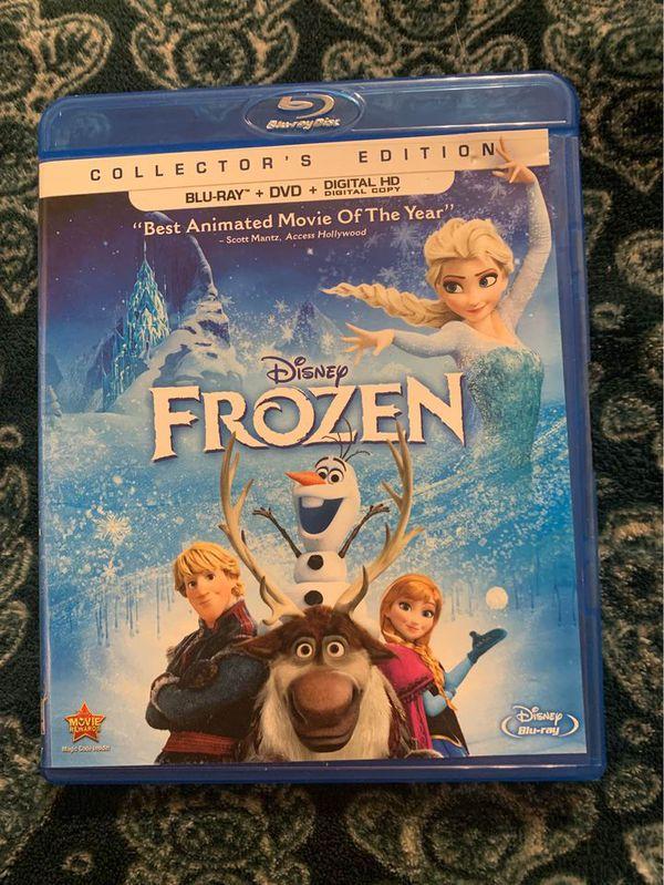 Disney frozen original movie Blu-ray Elsa Anna