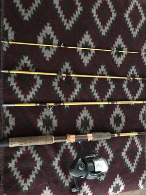 Eagle Claw Trailmaster Fishing Rod & South Bend Eclipse Reel for Sale in Portland, OR