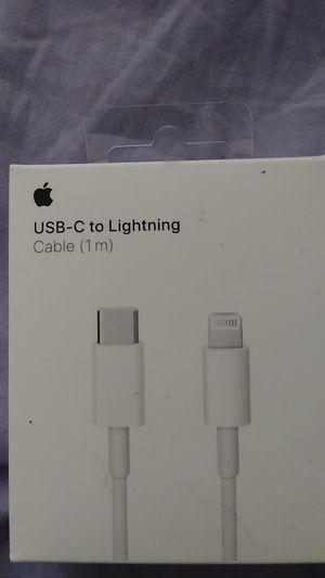 USB- C ti lightening for Sale in Hayward, CA