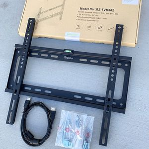 """(NEW) $10 Fixed 26""""-55"""" TV Wall Mount Bracket Low Profile, Max 110Lbs (w/ 5ft HDMI Cable) for Sale in Whittier, CA"""