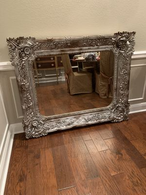 Royal Doulton China, Large Mirror, Antique Buffet, Antique Armoire, Bookcases for Sale in Cedar Creek, TX