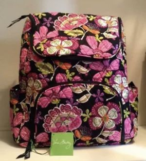 New with tags Vera Bradley Double Zip Backpack in Piroutte Pink for Sale in Tampa, FL