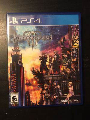 Ps4 Games Kingdom Hearts 3 for Sale in Norwalk, CA