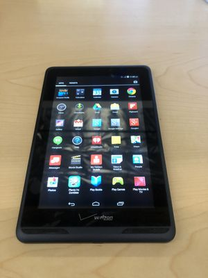 VERIZON ELLIPSIS 7 INCH 4G LTE WIFI TABLET BLACK for Sale in Los Angeles, CA