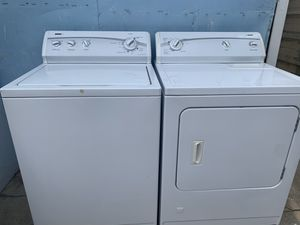 Kenmore 500 Super Capacity Washer And Gas Dryer for Sale in Fontana, CA