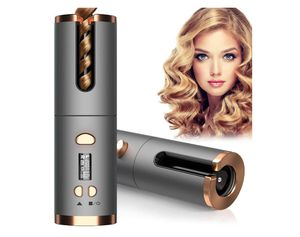 new Cordless Auto Curler, Automatic Curling Iron, Rechargeable Auto Hair Curler with 6 Temperature & Timer Settings, Auto Shut-Off Portable Curling W for Sale in Rancho Cucamonga, CA