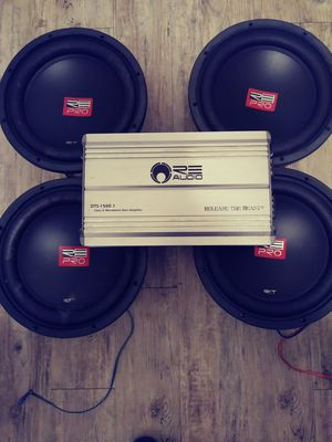 Re audio bass package for Sale in Orlando, FL
