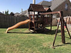 Rainbow Swing Set for Sale in Oak Point, TX