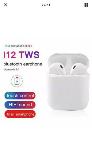 I12 TWS Bluetooth Headphones for Sale in Columbus, OH