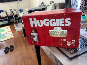Huggies size 2 diaper for Sale in Palos Verdes Estates, CA