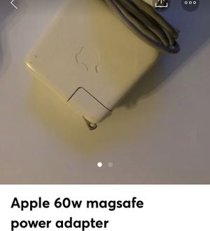 Apple 60w magsafe power adapter for Sale in Fresno, CA