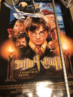 Harry Potter double Sided movie Poster genuine for Sale in Vallejo,  CA