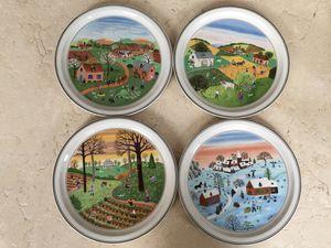 4 Villeroy & Boch Decorative Plates for Sale in Alexandria, VA