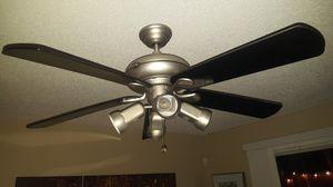 """Hunter 54"""" Inch Ceiling Fan w/ Light fixture for Sale in Tampa, FL"""