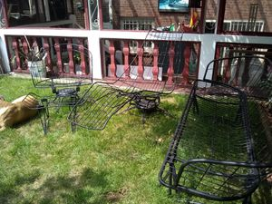 Antique wrought iron patio furniture for Sale in Queens, NY