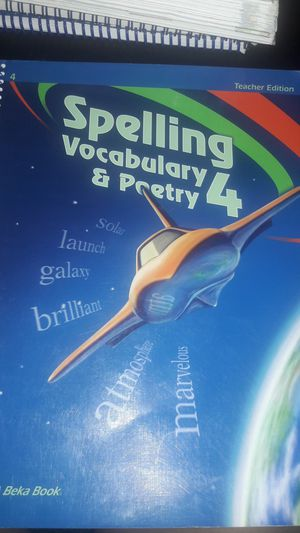 Abeka 4th grade spelling for Sale for sale  Bonita, CA