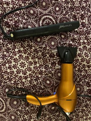 Great Hair dryer and straightener for $35 for Sale in Rockville, MD