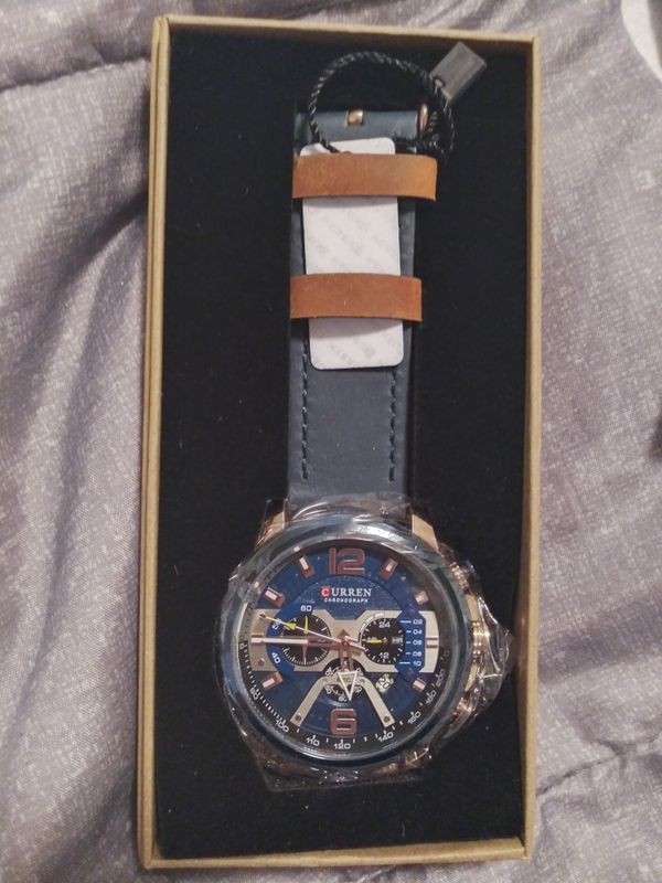 Mens watch new in Package