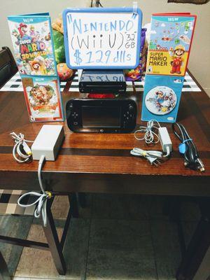 Nintendo Wii U 32gb for Sale in San Diego, CA