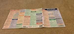 Statistics Cheat Sheet - Store-bought for Sale in Evergreen, CO