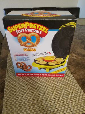 SUPER PRETZEL MAKER New for Sale in Pasco, WA