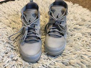 Gray Suede Jordan's Size Youth 6 1/2 for Sale in Nashville, TN
