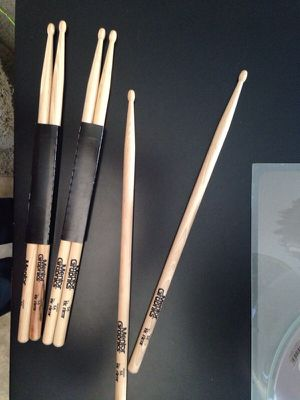New drumsticks, 3 pairs, $5 per pair for Sale in Tempe, AZ