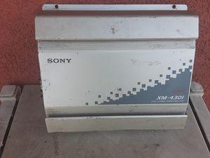 AMPLIFICADOR AMPLIFIER SONY 4 CHANELS GOOD CONDICIÓN ABLO ESPAÑOL for Sale in Stockton, CA