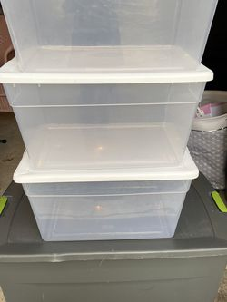 Sterilite Storage Bins for Sale in Staten Island,  NY