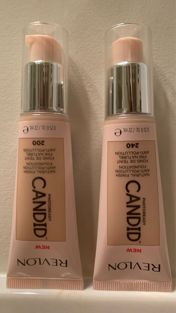 Revlon Photoready Candid natural finish foundation in #200 nude or #240 natural beige