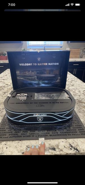 Las Vegas Raiders 2020 Inaugural Season Ticket holder gift box for Sale in Henderson, NV