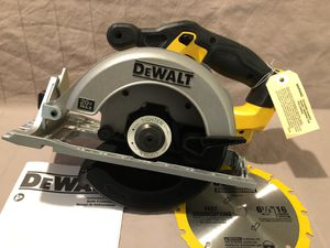 Brand new never used Dewalt 20V cordless circular saw. Tool and blade only for Sale in Vacaville, CA