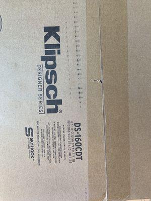 DS-160CDT Klipsch celling speaker for Sale in Lawrenceville, GA