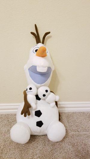 Giant Olaf stuffed animal for Sale in McKinney, TX