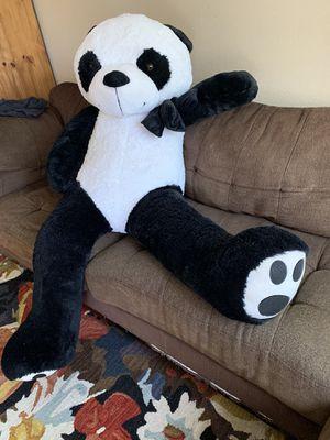 Giant teddy bear, valentines gift, like new, panda, stuffed animals for Sale in Chula Vista, CA
