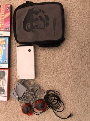 Nintendo DSi, case, headphones, games for Sale in Maple Grove, MN