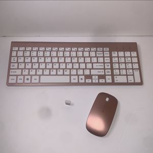 Rose Gold Wireless Keyboard And Mouse Combo for Sale in San Bernardino, CA