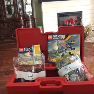 LEGO Carrying Case With Legos $20 OBO for Sale in Fresno, CA
